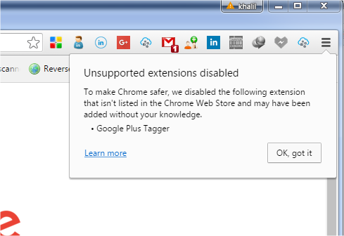 how to keep extension running chrome