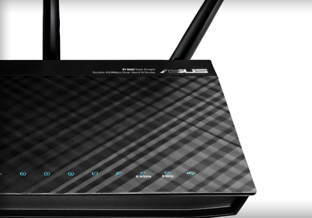 Asus RT N66UDarkKnightDouble450MbpsNRouter 610x426