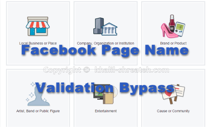 Facebook Pages Name Validation System Bypass