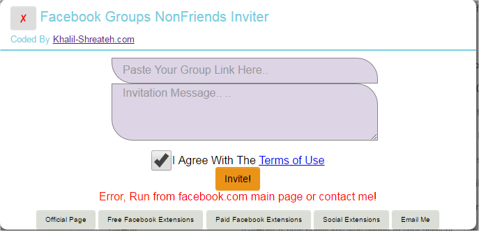 Groups NoneFriends Adder