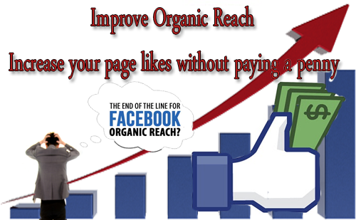 Increase Page Organic Reach And Likes