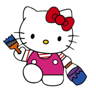 Hello Kitty Stickers Printing01